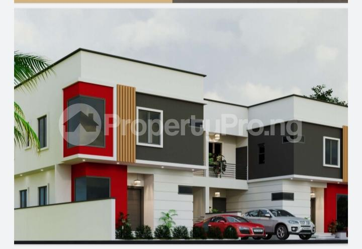 4 bedroom Semi Detached Duplex House for sale By the prestigious Richmond Estate Road, Beside Meadow Hall School Ikate Lekki Lagos - 0