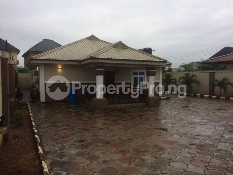 3 bedroom Detached Bungalow House for sale Very close to the road at Oghoghobi off Sapele road Oredo Edo - 1