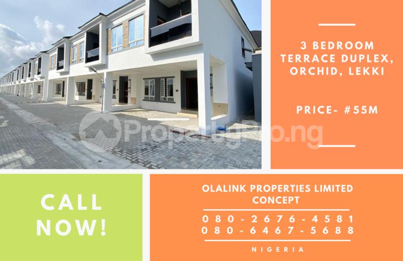 3 bedroom Terraced Duplex House for sale Orchid Road, Off Chevron Drive, Lekki, Lagos chevron Lekki Lagos - 1