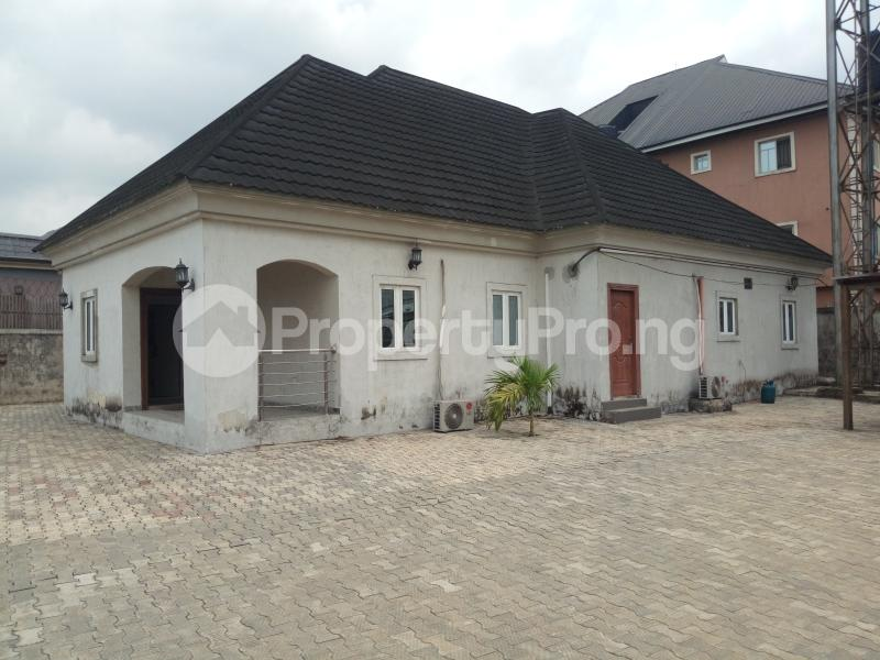 4 bedroom Detached Bungalow House for sale Radio Estate NTA Rd Magbuoba Port Harcourt Rivers - 1