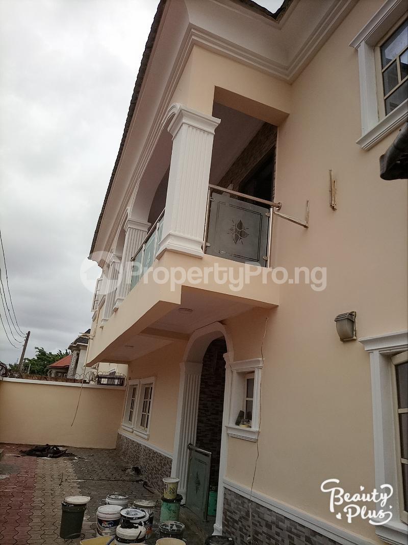 4 bedroom Semi Detached Duplex for rent Ajao Estate Isolo. Lagos Mainland Ajao Estate Isolo Lagos - 1