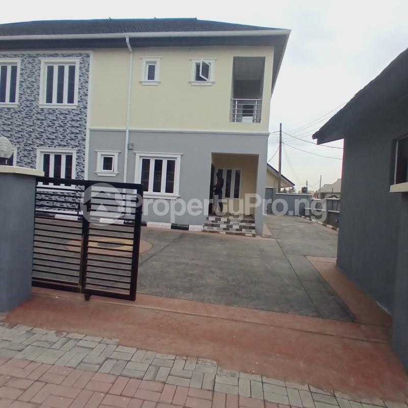 4 bedroom Semi Detached Duplex for sale Idishin Extension, Alpha Grace Estate Idishin Ibadan Oyo - 1