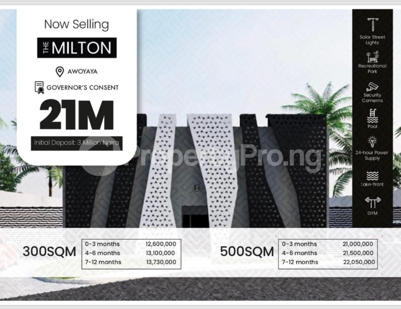 Shared Apartment for sale Awoyaya Ibeju-Lekki Lagos - 5