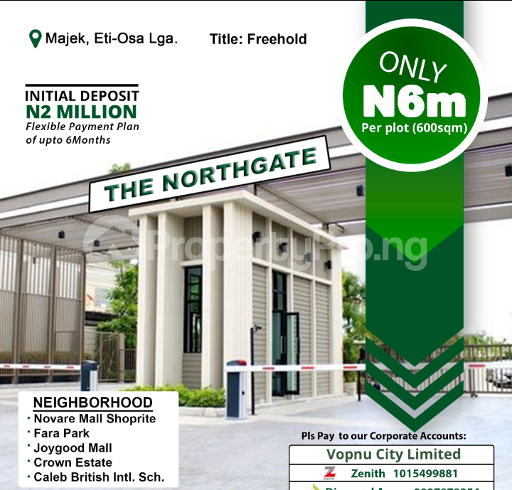 Residential Land Land for sale Majek, Opposite Fara Park Estate, Off Lekki Epe Express Road Bogije Sangotedo Lagos - 0