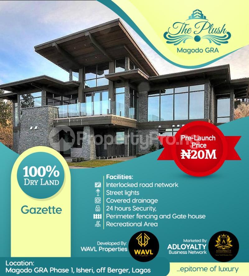 Residential Land Land for rent Isheri, off Berger Magodo GRA Phase 1 Ojodu Lagos - 3