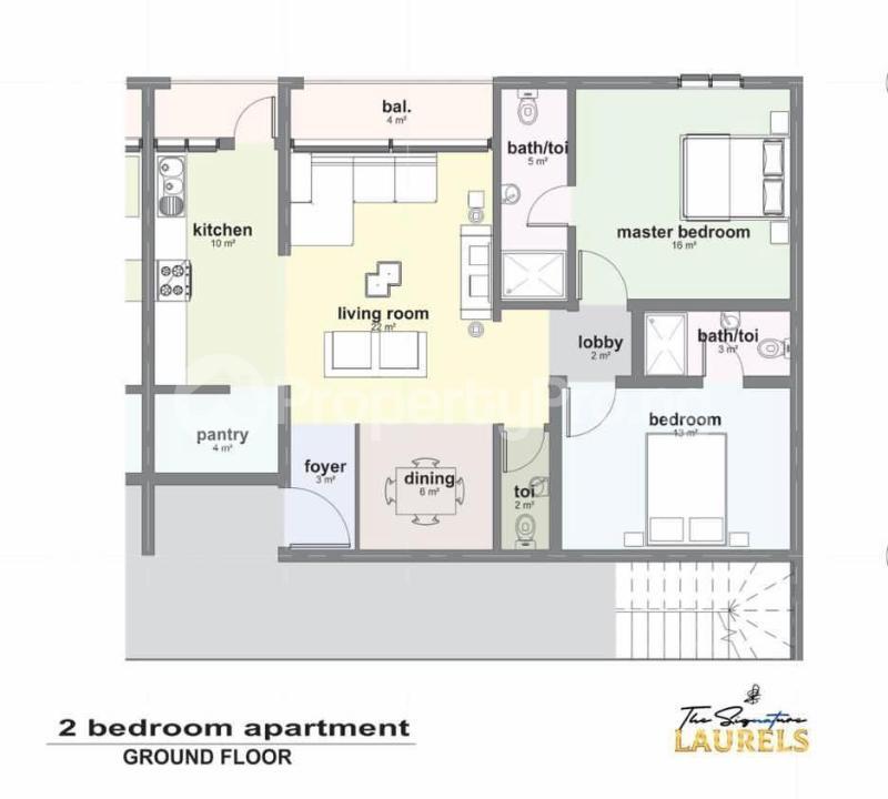 2 bedroom Massionette House for sale Abraham adesanya estate Ajah Lagos - 5