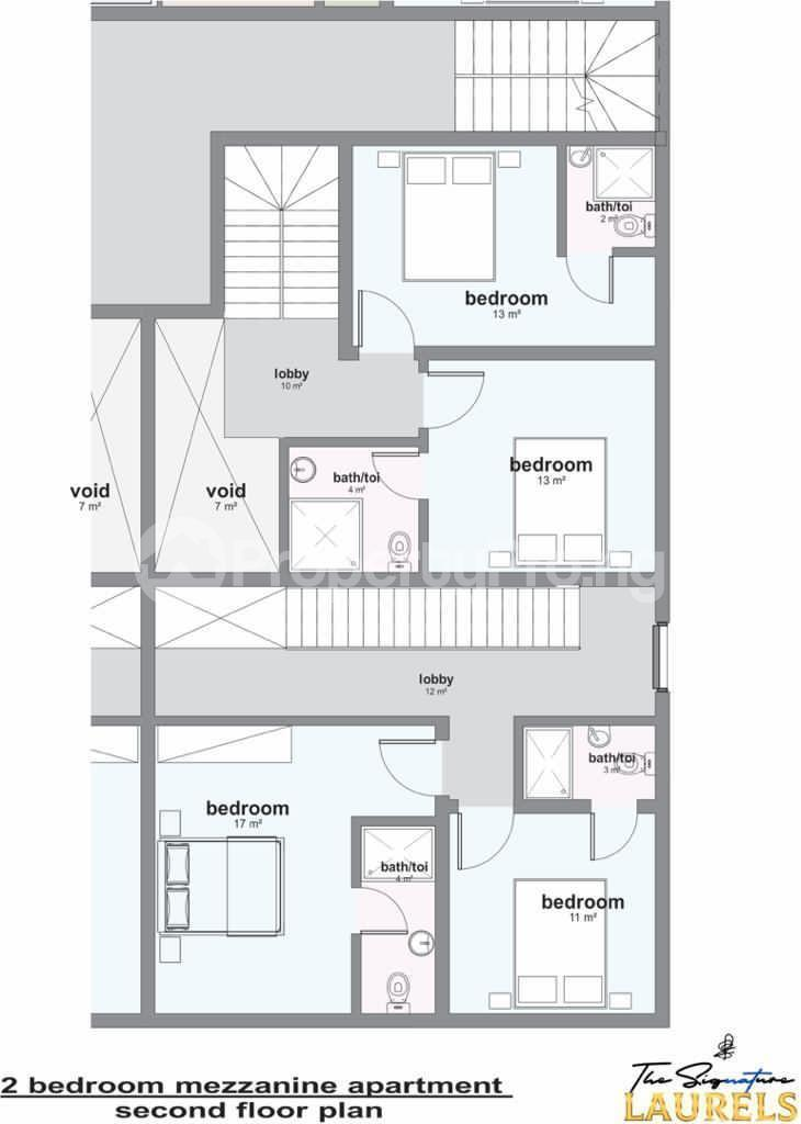 2 bedroom Massionette House for sale Abraham adesanya estate Ajah Lagos - 3