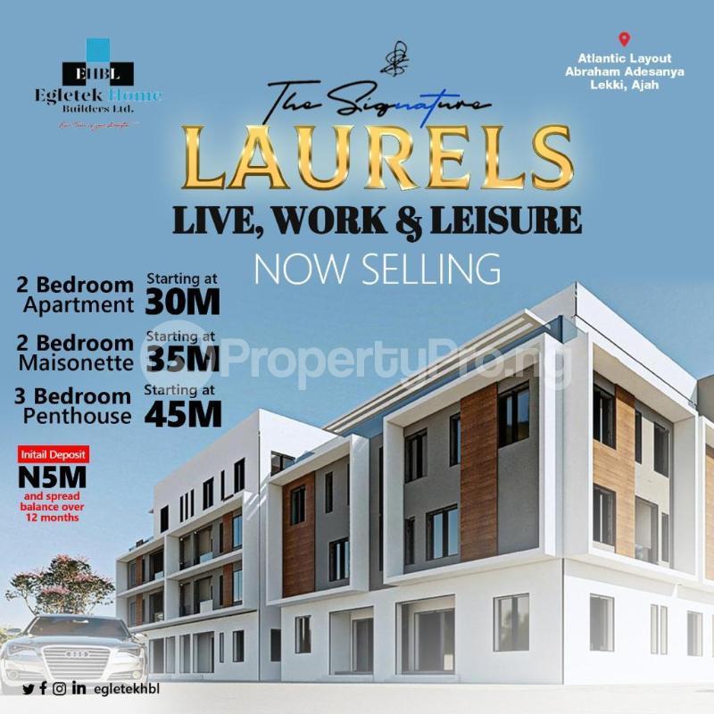 2 bedroom Massionette House for sale Abraham adesanya estate Ajah Lagos - 0