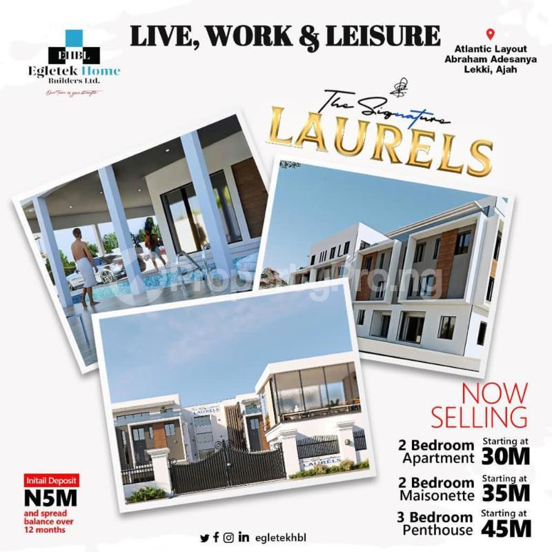 2 bedroom Massionette House for sale Abraham adesanya estate Ajah Lagos - 2