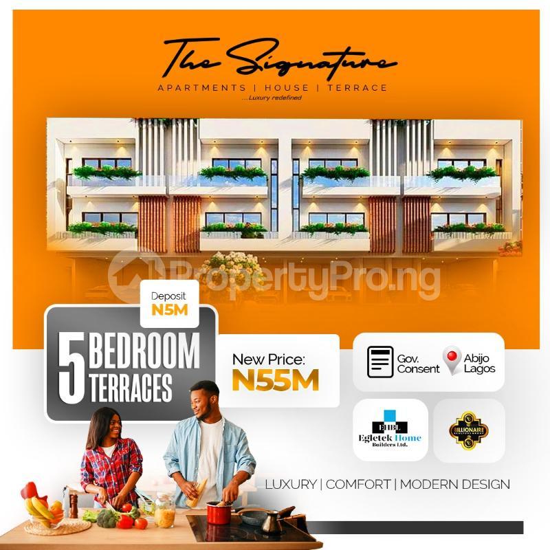 5 bedroom Detached Duplex for sale Sunday Ejiofor Street, Green Park Scheme Opposite Corona School Abijo Lekki Abijo Ajah Lagos - 0