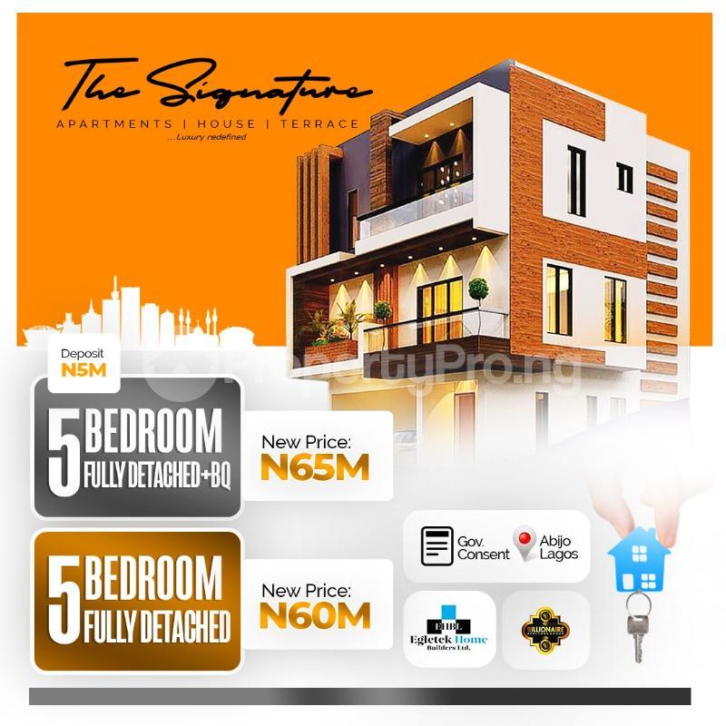 5 bedroom Detached Duplex for sale Sunday Ejiofor Street, Green Park Scheme Opposite Corona School Abijo Lekki Abijo Ajah Lagos - 6