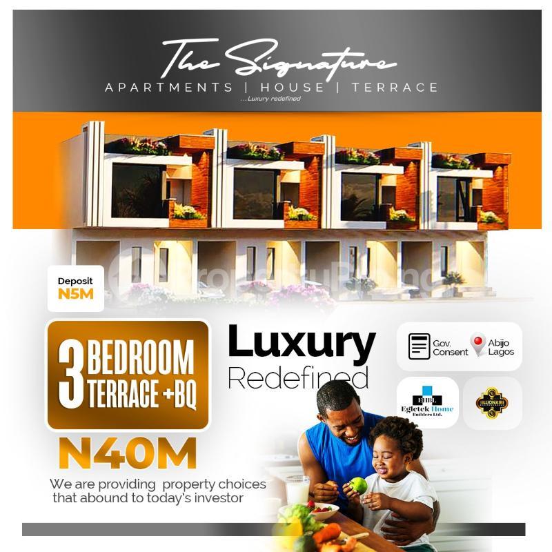 5 bedroom Detached Duplex for sale Sunday Ejiofor Street, Green Park Scheme Opposite Corona School Abijo Lekki Abijo Ajah Lagos - 1