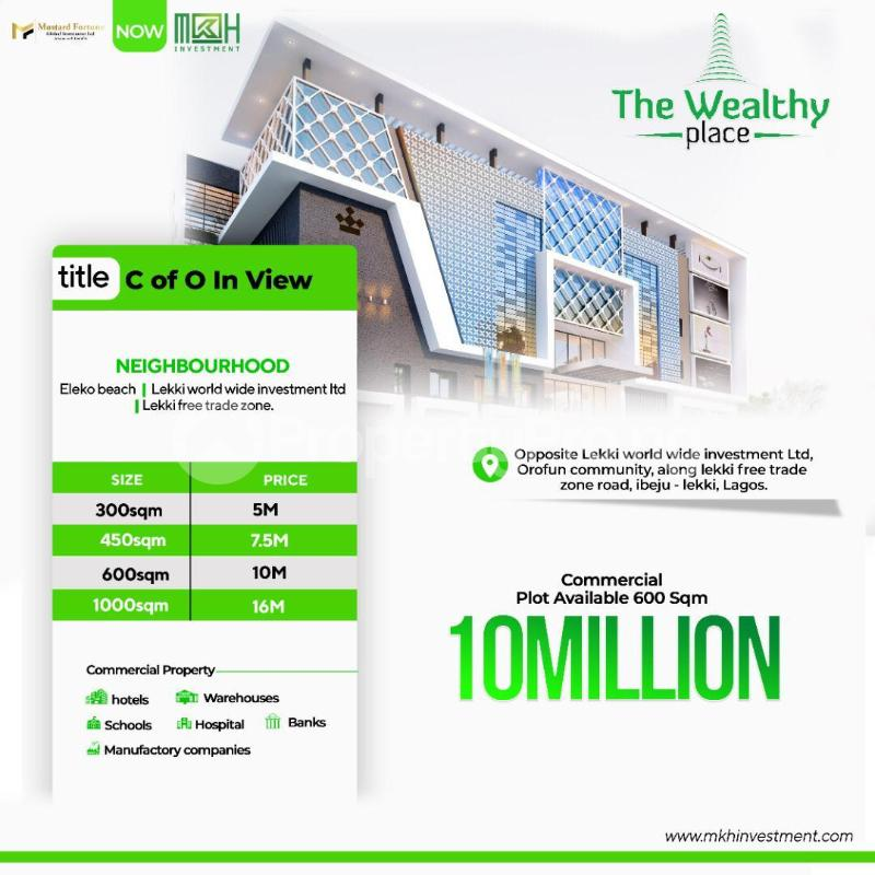 Commercial Land Land for sale Free Trade Zone Ibeju-Lekki Lagos - 0