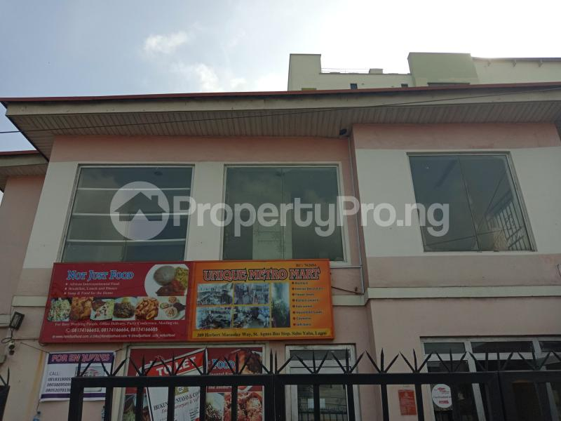Shop in a Mall Commercial Property for rent Herbert macculley rd Sabo Yaba Lagos - 0