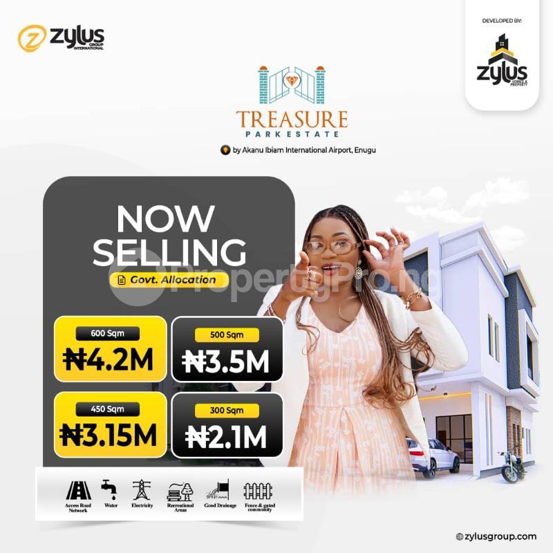 Residential Land for sale By Nnpc Depot, Nkubor Nike, Enugu Enugu - 0