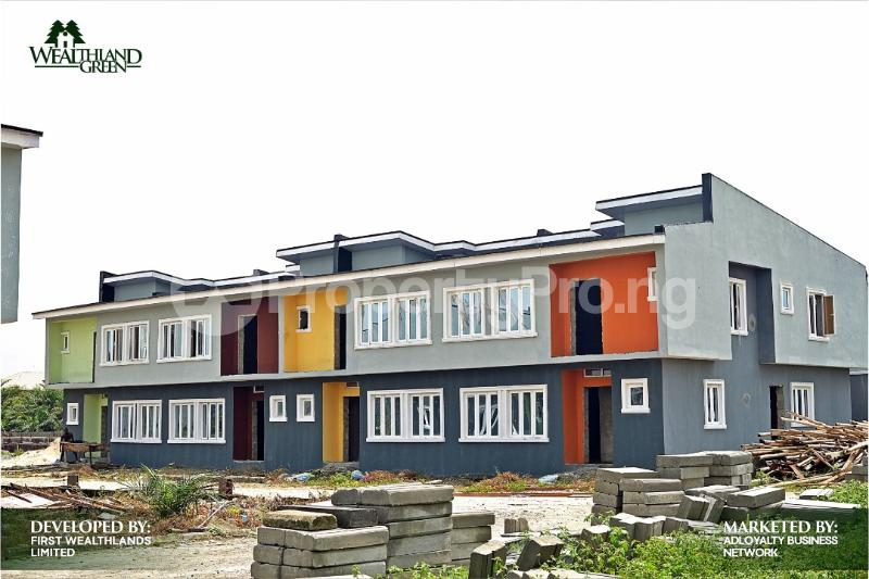 2 bedroom Terraced Duplex House for sale Oribanwa Ibeju-Lekki Lagos - 0