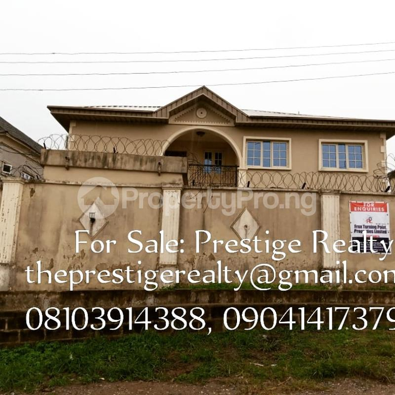 6 bedroom Semi Detached Duplex for sale Olu Odo Off Igbogbo Road Igbogbo Ikorodu Lagos - 1