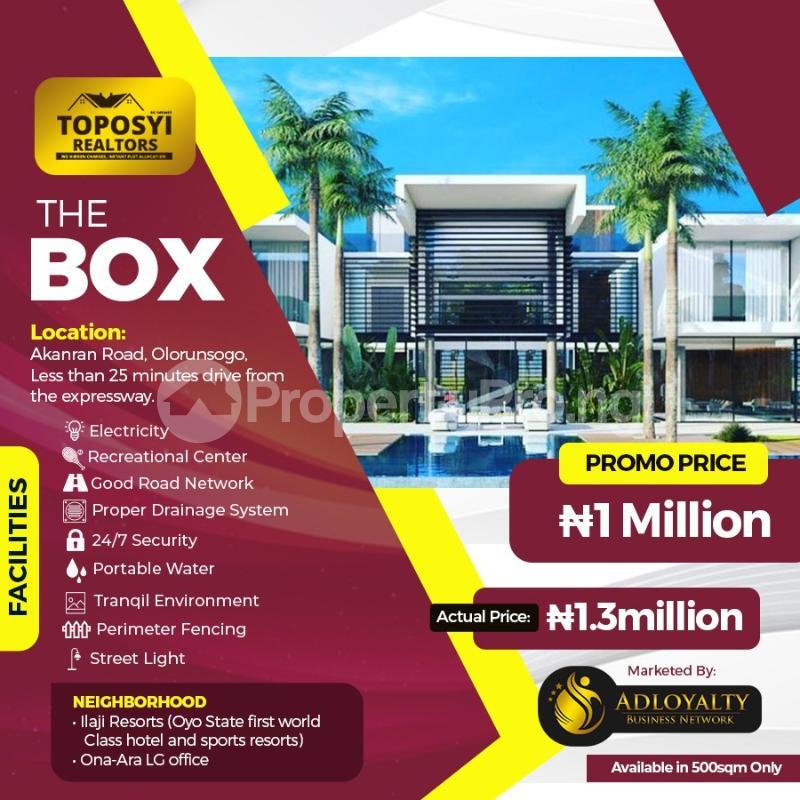 Residential Land for sale Ido, Ologuneru, Akanran, Olodo, Ibadan Ibadan Oyo - 5