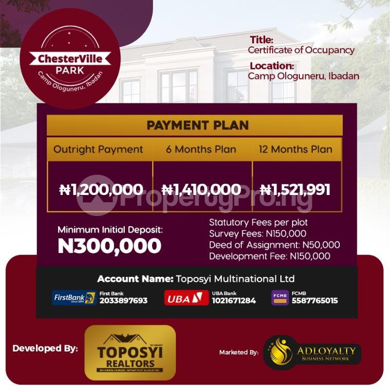 Residential Land for sale Ido, Ologuneru, Akanran, Olodo, Ibadan Ibadan Oyo - 0