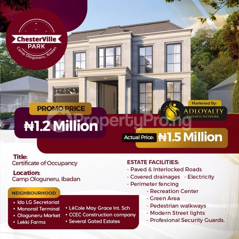 Residential Land for sale Ido, Ologuneru, Akanran, Olodo, Ibadan Ibadan Oyo - 4