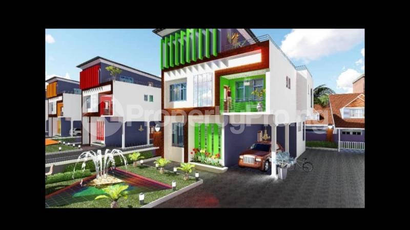 5 bedroom Terraced Duplex for sale Obasonjo Hilltop Oke Mosan Abeokuta Ogun - 1