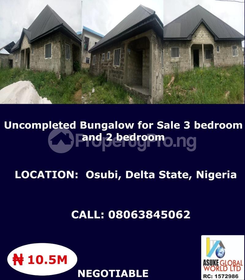 3 bedroom House for sale Osubi ,Delta state Nigeria Warri Delta - 0