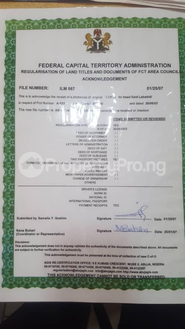 Residential Land Land for sale Dei Dei Livestock Estate Abuja Dei-Dei Abuja - 1