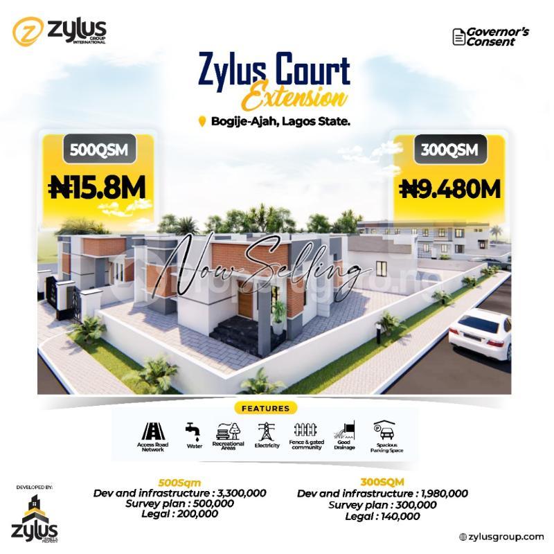 3 bedroom House for sale Bogije Ajah, Lekki Epe Expressway Free Trade Zone Ibeju-Lekki Lagos - 3