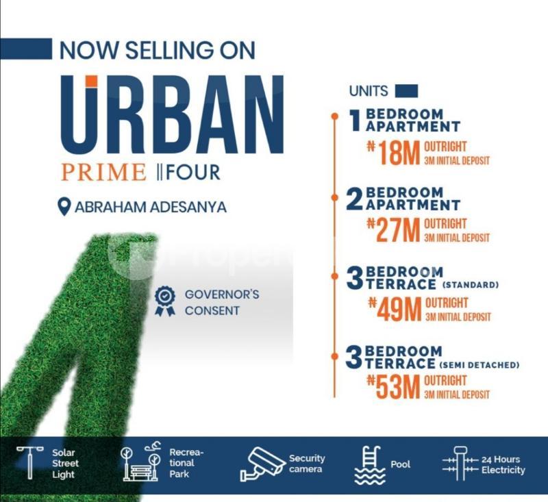 3 bedroom Semi Detached Duplex House for sale Abraham adesanya estate Ajah Lagos - 4