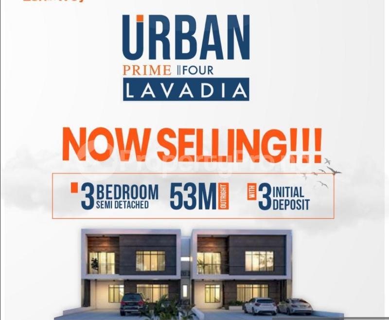 3 bedroom Semi Detached Duplex House for sale Abraham adesanya estate Ajah Lagos - 2