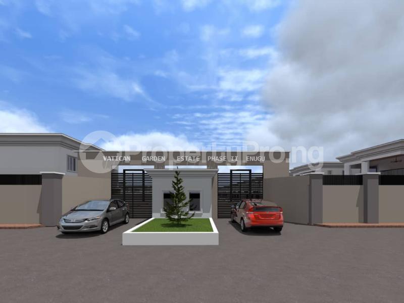 Residential Land for sale Ugwuomu, Emene, Enugu Besides Goodluck Jonathan Market Enugu Enugu - 1