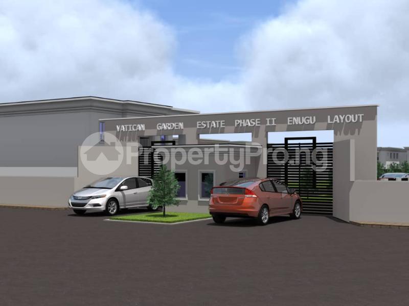 Residential Land for sale Ugwuomu, Emene, Enugu Besides Goodluck Jonathan Market Enugu Enugu - 2