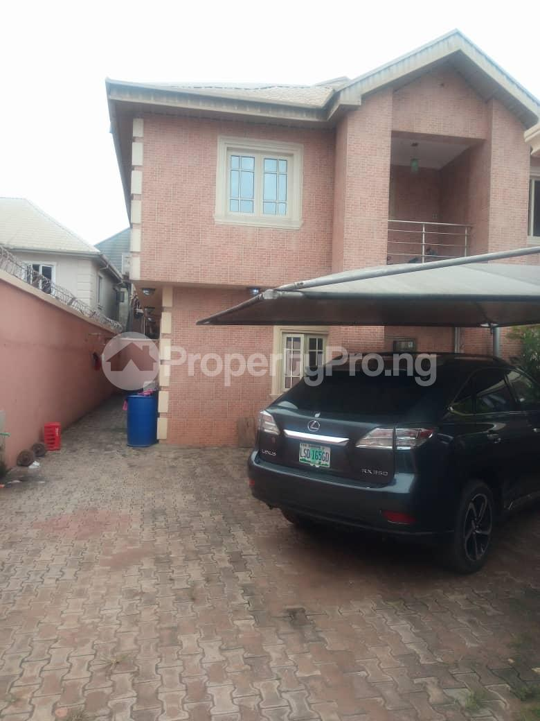 4 bedroom Detached Duplex for sale Canal View Estate Oke-Afa Isolo Lagos - 0