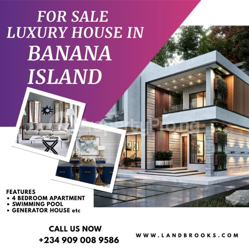 4 bedroom Flat / Apartment for sale Banana Island Ikoyi Lagos - 0