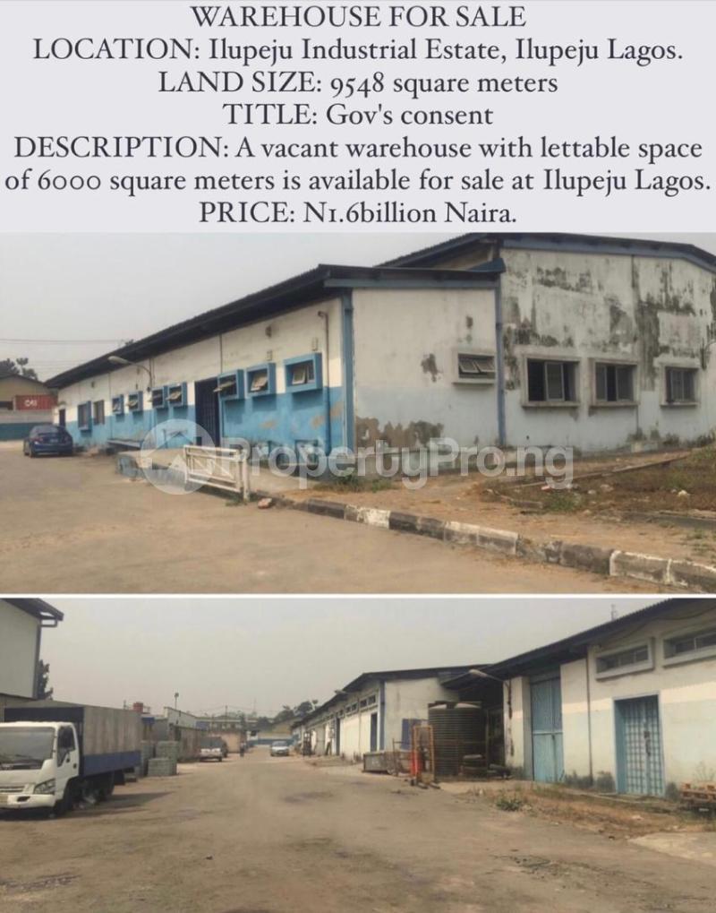 Warehouse for sale Ilupeju Lagos - 0