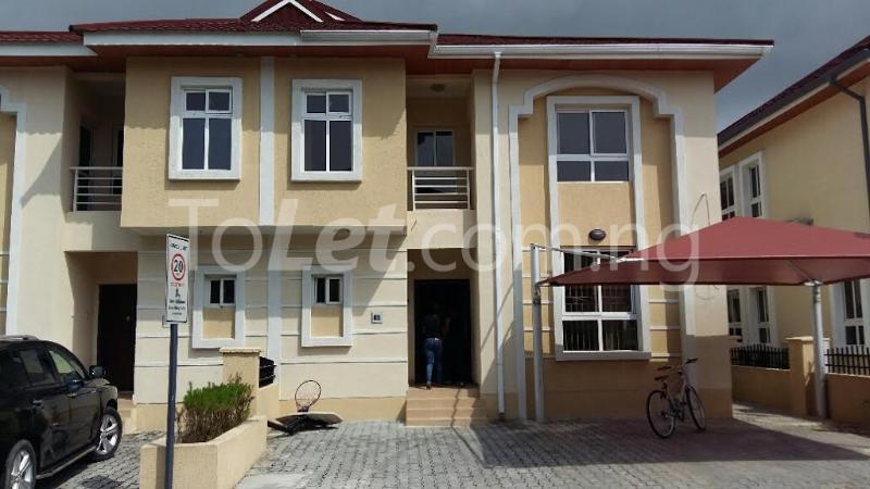 4 bedroom House for rent bourdillon court chevron Lekki Lagos - 1