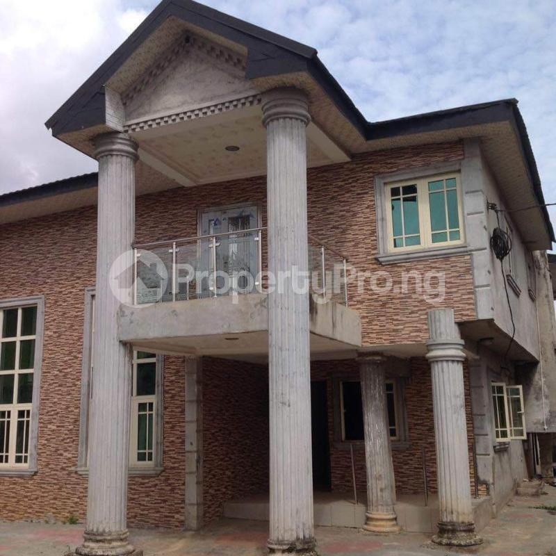 5 bedroom Detached Duplex House for sale Opp, diamond estate isheri olofin Lagos Governors road Ikotun/Igando Lagos - 0