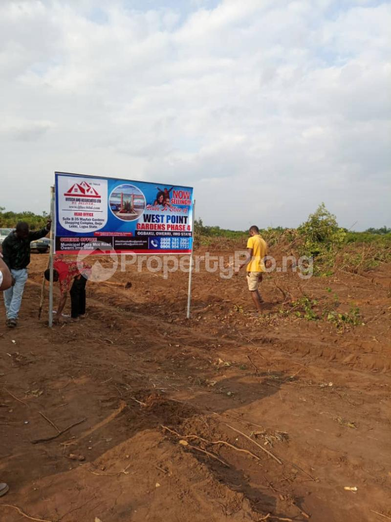 Residential Land Land for sale Ogbaku, Mbaitoli, L.G.Area, Owerri, Imo State. Mbaitoli Imo - 0