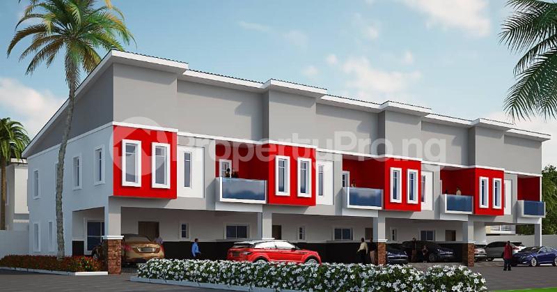 4 bedroom Terraced Duplex House for sale After the 2nd Toll gate, Between Chevron and VGC, Ikota, Lekki Phase 2,  Creek Avenue Court Ikota Lekki Lagos - 24