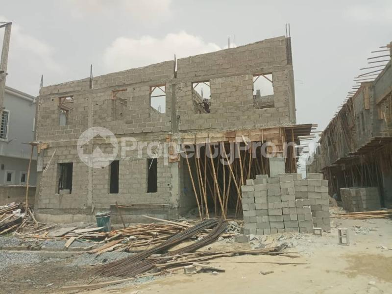 4 bedroom Terraced Duplex House for sale After the 2nd Toll gate, Between Chevron and VGC, Ikota, Lekki Phase 2,  Creek Avenue Court Ikota Lekki Lagos - 26