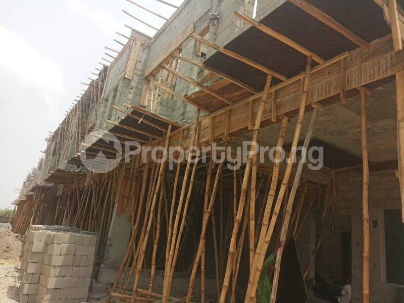 4 bedroom Terraced Duplex House for sale After the 2nd Toll gate, Between Chevron and VGC, Ikota, Lekki Phase 2,  Creek Avenue Court Ikota Lekki Lagos - 7