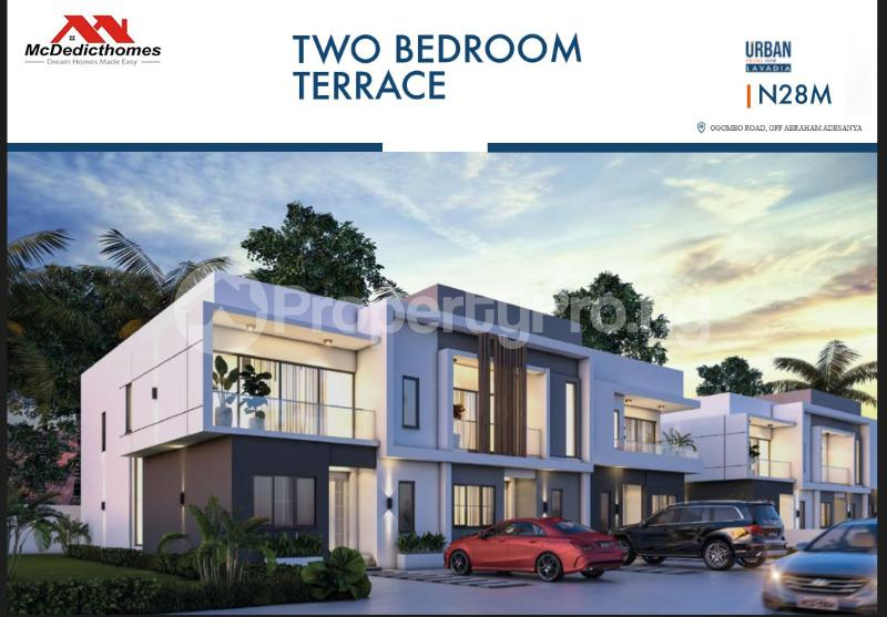 2 bedroom Terraced Duplex House for sale Abraham adesanya estate Ajah Lagos - 5