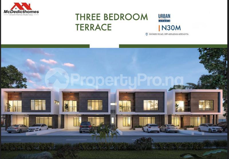 2 bedroom Terraced Duplex House for sale Abraham adesanya estate Ajah Lagos - 3