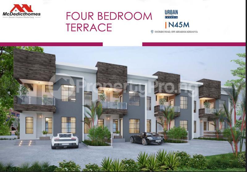 2 bedroom Terraced Duplex House for sale Abraham adesanya estate Ajah Lagos - 1