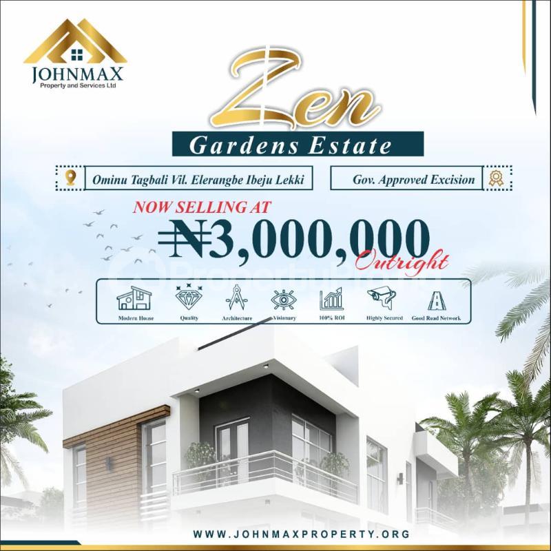 Residential Land for sale Eleko Ibeju-Lekki Lagos - 0