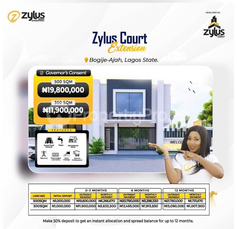 3 bedroom Detached Bungalow for sale Bogije Off Lekki-Epe Expressway Ajah Lagos - 0