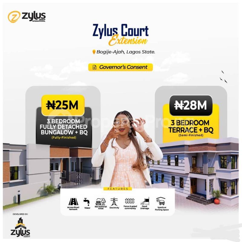 3 bedroom Detached Bungalow for sale Bogije Off Lekki-Epe Expressway Ajah Lagos - 4