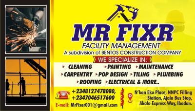 MR FIXER FACILITY MANAGEMENT COMPANY