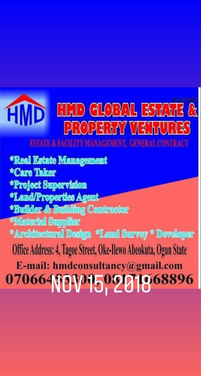HMD GLOBAL ESTATE AND PROPERTY VENTURES