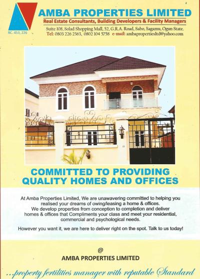 Amba Properties Ltd